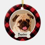 Personalised Puppy Dog Photo Ornament