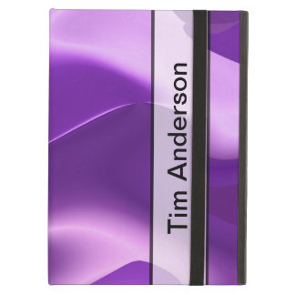 Personalised Purple Flame Abstract iPad Air Cases