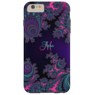 Personalised Purple Fractal iPhone 6 Plus Case