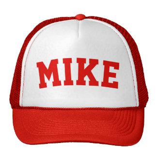 Personalised Red Short Name Cap