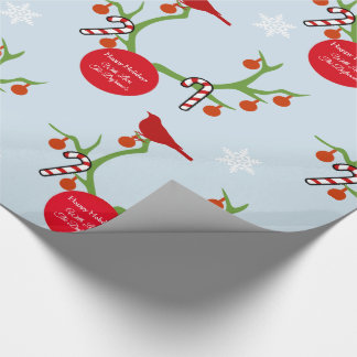 Personalised Reindeer Antlers Christmas Wrapping Paper