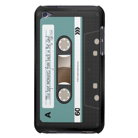 Personalised Retro Cassette Mixtape 80s iPod Case