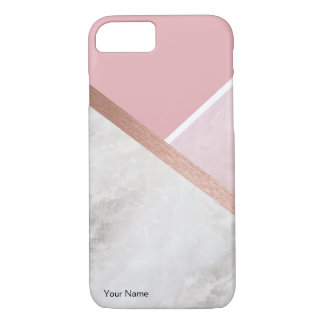 Personalised Rose Gold Apple iPhone 8/7 Case