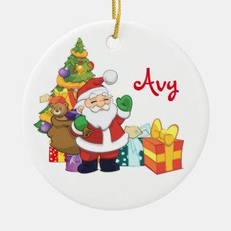 Personalised Santa Ornament