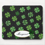 Personalised Shamrock and Four Leaf Clover