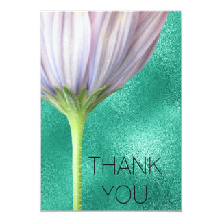 Personalised Shining Thank You Card 9 Cm X 13 Cm Invitation Card