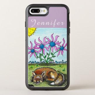 Personalised Sleeping Fox iPhone Case