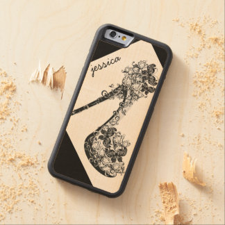 Personalised Stilettos Shoes High Heels Pumps Carved Maple iPhone 6 Bumper Case