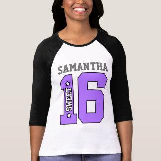 Personalised Sweet Sixteen Shirt