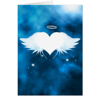 Personalised Sympathy Card - Angel of the Heart