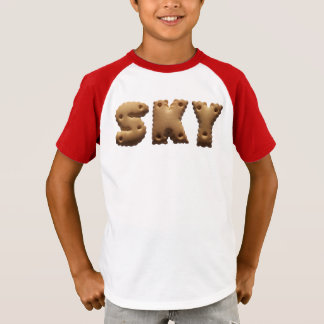 Personalised T shirt with the nasty Sky
