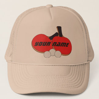 Personalised Table Tennis Ping Pong Trucker Hat