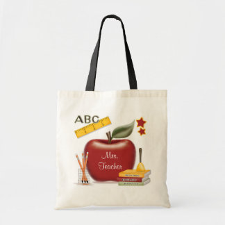 Personalised Teacher's Bag