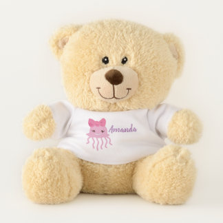 Personalised teddy bear under the sea