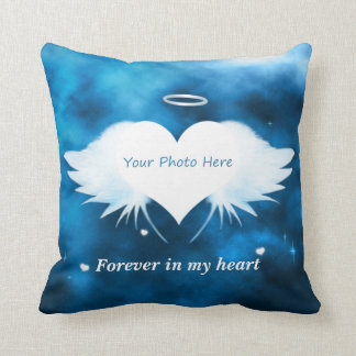 Personalised Throw Pillow - Angel of the Heart