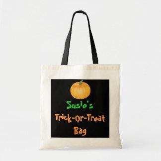 Personalised Trick or Treat Bags