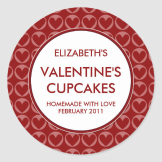Personalised Valentine's Canning / Baking Stickers