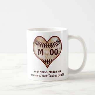 Personalised Valentines Day Gifts Baseball Player Coffee Mug