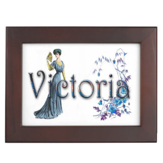 Personalised `Victoria' design Memory Boxes