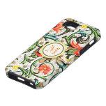 Personalised Vintage Swirly Damask iphone 5