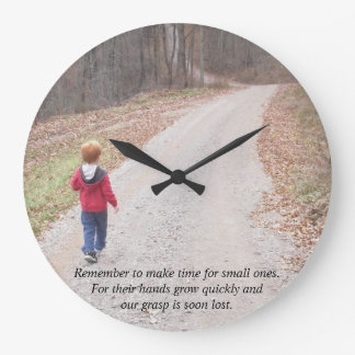 Personalised Wall clock with your photos and text