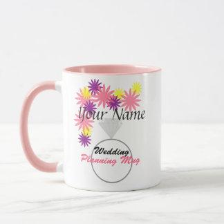 Personalised Wedding Planning Mug