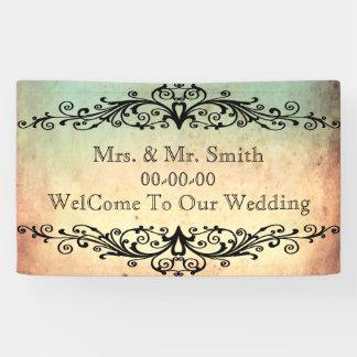 Personalised wedding,reunion,celebration banner