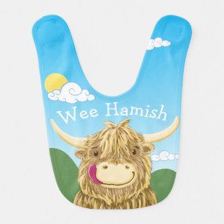 Personalised Wee Hamish Bibs