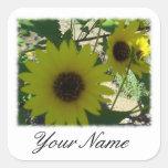 Personalised Wild Sunflowers