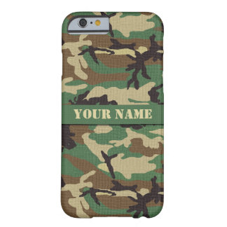 Personalised  Woodland Camouflage iPhone 6 Case