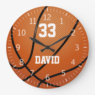 Personalizable Basketball | Player No Large Clock