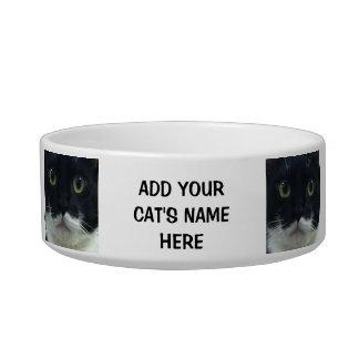 Personalizable Cat Dish Pet Food Bowl