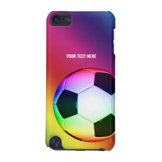 Personalizable Colorful Soccer | Fun Gifts iPod Touch 5G Case