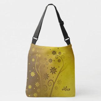 Personalizable   Cute Blooming Flowers Crossbody Bag