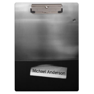 Personalizable Folded Paper Towel Dispenser Clipboard