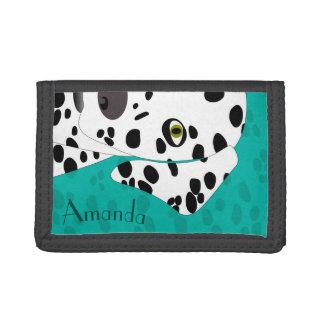 Personalizable Girls Wallet   Dalmatian Wallet