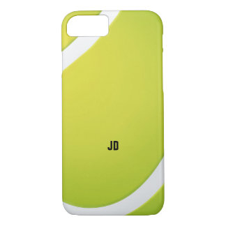 Personalizable Green Tennis ball iPhone 7 Case