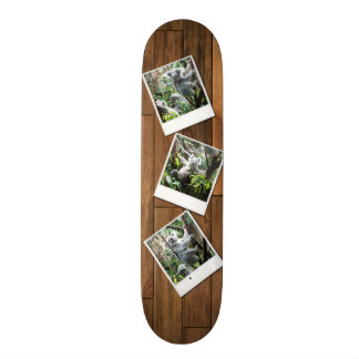 Personalizable Instant Multi Photo Frame Skate Deck