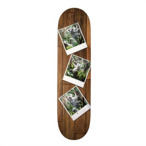 Personalizable Instant Multi Photo Frame Skate Decks