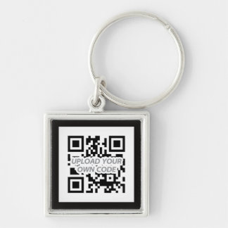Personalizable QR Code Keychain - Find your keys!