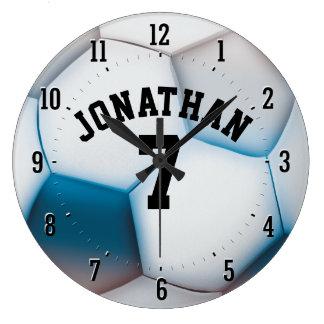 Personalizable Soccer | Football Sport Gift Clock