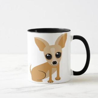 Personalizable Tan Chihuahua Mug
