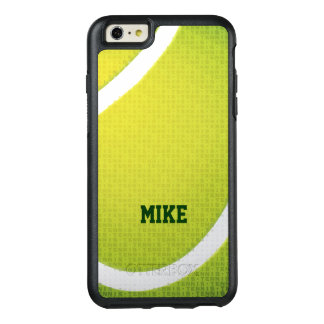 Personalizable | Tennis Typo Text OtterBox iPhone 6/6s Plus Case