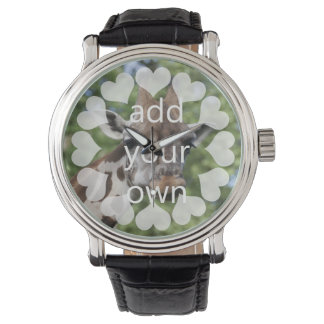 Personalizable With Hearts Wrist Watches
