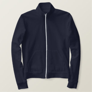 Personalizable YEAR and Names Skipper Yacht Flag Embroidered Jackets