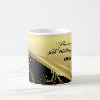 Personalize, 50th Wedding Anniversary Religious Coffee Mug