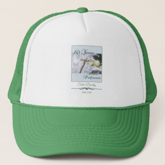 Personalize, 60 Years of Religious Profession Trucker Hat