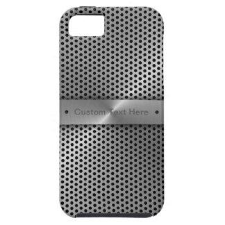 Personalize Aluminium Plate iPhone 5 Case
