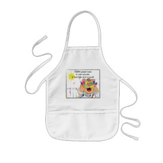 """Personalize Apron for """"Best Little Artist"""""""
