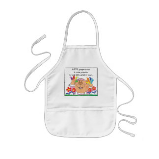 """Personalize Apron for Girl's """"Best Little Artist"""""""